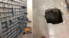 Thieves opened fire a 25 feet long tunnel, broke the locker and stole jewelery | चोरों ने 25 फीट लंबी सुंरग खोदकर बैंक मे लगाई सेंध,  लॉकर को तोड़कर चुरा ले गए ज्वेलरी