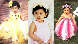 MS Dhoni's Daughter Ziva Cutest Pictures Ever: Star Kid is Officially The Sweetest Flower Ever in This Photoshoot