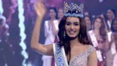 भारत ने जीता 'मिस वर्ल्ड 2017' का ताज, हरियाणा की मानुषी छिल्लर बनीं विजेता