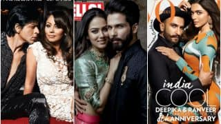 Shahid Kapoor-Mira Rajput, Ranveer Singh-Deepika Padukone, SRK- Gauri & Other Power Couples Who Graced Popular Magazine Covers