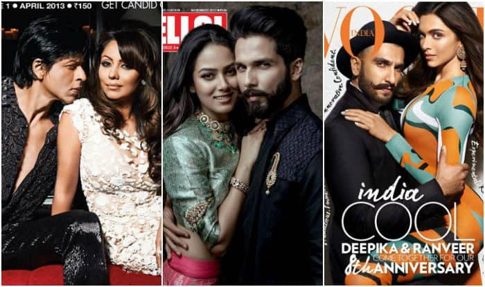 Shahid and Mira Kapoor's first cover shoot is pretty damn hot