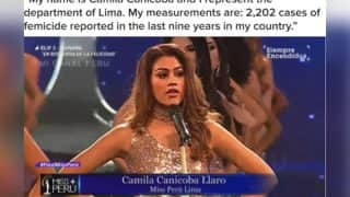 Miss Peru Pageant Contestants Highlight Violence On Women Instead of Body Measurements (Video)