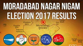 Moradabad Nagar Nigam Election 2017 Results News Updates: BJP's Vinod Agarwal Wins Mayoral Post