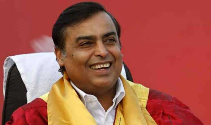 Chairman and Managing Director Mukesh Ambani.