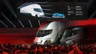 Tesla Unveils World's Fastest Car Roadster and Semi Truck in California