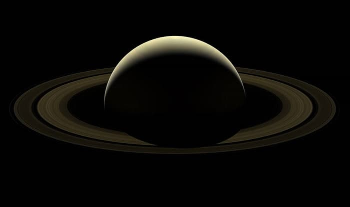 NASA Releases Last Cassini Image Of Saturn And Its Rings