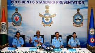 IAF's 223 Squadron And 117 Helicopter Unit to Be Felicitated President's Standard And Colours Award on Nov 16