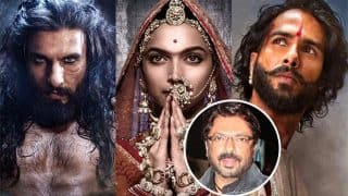 PadmavatiWill Not Be Promoted? Release Date To Be Pushed Again? Ranveer Singh, Shahid Kapoor's Pictures Make Us Wonder