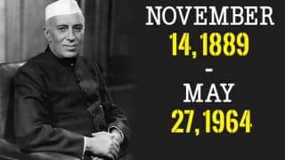 Here's Why Pandit Jawaharlal Nehru's Birthday Is Celebrated as Children's Day in India