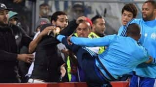 Patrice Evra Suspended by Olympique Marseille After Kicking a Home Fan Ahead of Europa League Match