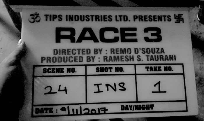 Race 3: Salman Khan starrer goes on floors-See Pic