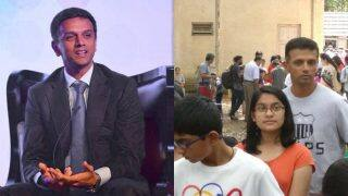 Rahul Dravid Standing in Queue With His Kids For Science Exhibition Proves What A Gentleman He Is