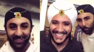 Ranbir Kapoor Trying Quirky Snapchat Filter and Dancing on Bom Diggy Song in This Video is Basically All of Us