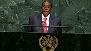 रॉबर्ट मुगाबे ने राष्ट्रपति पद से इस्तीफा दिया