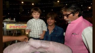 Shah Rukh Khan's son AbRam Thinks Amitabh Bachchan is His Father's Father; View Pics From Aaradhya's Birthday
