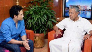 ISL 2017-18: Sachin Tendulkar Seeks Kerala CM Pinarayi Vijayan's Support For Season 4 of the Football Tournament