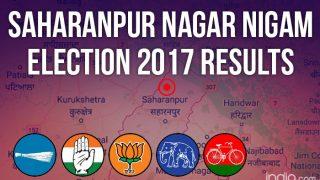 Saharanpur Nagar Nigam Election 2017 Results News Updates: BJP's Sanjeev Walia Wins Mayoral Poll