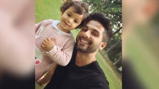 Shahid Kapoor's Hot Look And Misha Kapoor's Cute Smile Will Make Your Sunday Better