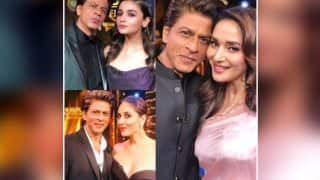 Shah Rukh Khan's Pic With Madhuri Dixit, Kareena Kapoor Khan And Alia Bhatt Is Giving Us All The Feels