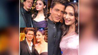 Shah Rukh Khan Posts Pic With Madhuri Dixit, Kareena Kapoor Khan And Alia Bhatt, Internet's Smitten