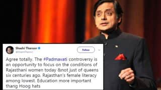 Shashi Tharoor Commits a Typo in His Tweet And The Twitterati Was Quick To Crack Jokes At His Expense