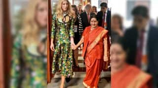 Ivanka Trump's Green Dress at the Global Entrepreneurship Summit Was a Complete Disaster