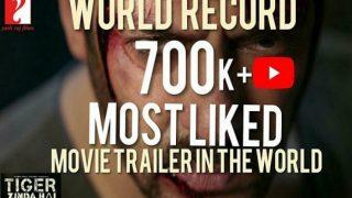 बाहुबली 2 ही नहीं दुनिया की हर बड़ी फिल्म को पछाड़ दिया हैं सलमान की फिल्म 'टाइगर जिंदा है' ने