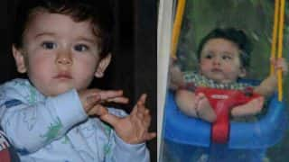 Adorable Taimur Ali Khan Spotted Enjoying His Me-Time On A Swing - View Pic