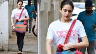 Sara Ali Khan Is the New Poster Girl For Women Empowerment - Check Out Pics