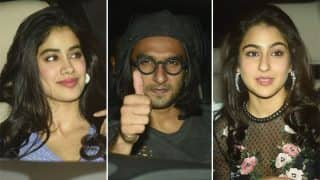 Ranveer Singh, Jhanvi Kapoor, Sara Ali Khan Among The First To Make An Appearance At Deepika Padukone's Padmavati Trailer Success Bash