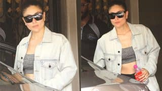 Mommy Kareena Kapoor Khan Gets Back In Top Shape Exactly A Month Before Taimur's First Birthday (View Pics)