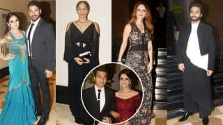 Smriti Khanna And Gautam Gupta Wedding Reception: Shabbir Ahluwalia-Kanchi Kaul, Masaba Gupta, Sussanne Khan, Jaccky Bhagnani Attend The Lavish Party