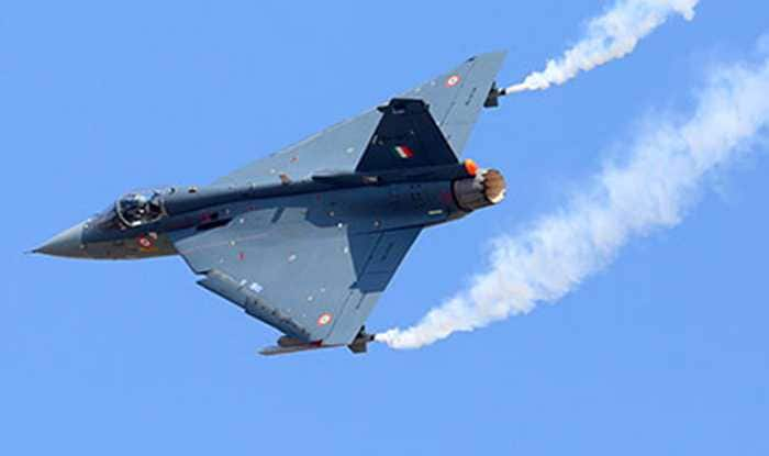 Singapore Defense Minister Flies In India's LCA Tejas