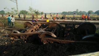 Odisha: 14 Coaches of Goods Train Derailed Near Jagatsinghpur, No Casualties Reported