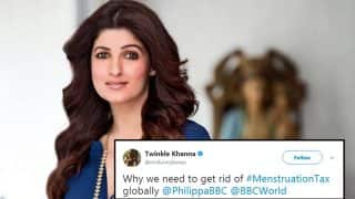 Twinkle Khanna Calls For No GST on Sanitary Pads, Twitterati Applauds Her Stand