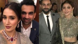Virat Kohli and Anushka Sharma Dances at Zaheer Khan and Sagarika Ghatge's Wedding Reception (Video)