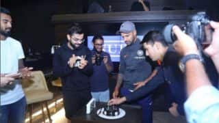 Team India Members Celebrate Shikhar Dhawan's Marriage Anniversary at Virat Kohli's Restaurant