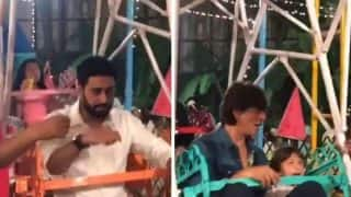 Aaradhya Bachchan Birthday Inside Pics: When Shah Rukh Khan, Abhishek Bachchan Stopped Adulting For A Night - Watch Video