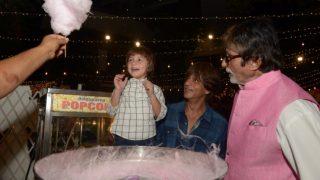 Amitabh Bachchan, Shah Rukh Khan Buying AbRam Khan Cotton Candy Will Beat Your Monday Blues- View Pics