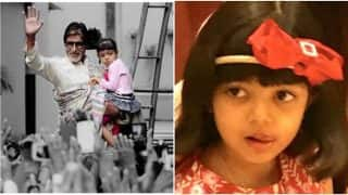 We Bet You've Never Seen Little Aaradhya Bachchan's Pic Tweeted By Amitabh Bachchan On Her Sixth Birthday