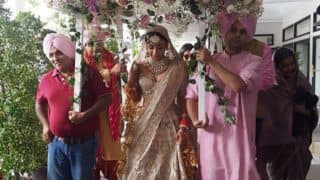 Aisha Actress Amrita Puri Gets Hitched To Imrun Sethi In A Grand Wedding Ceremony- View Pics