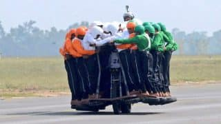Indian Army Creates World Record With 58 Men Riding on a Single Bike