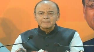 Finance Minister Arun Jaitley Calls Congress 'Opportunistic' on Note Ban, Says it Never Fought Against Corruption