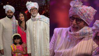 Aishwarya Bachchan , Aaradhya Bachchan, Amitabh Bachchan Redefine Royalty At A Family Wedding- View Pics