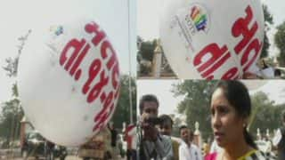 Gujarat Assembly Elections 2017: Poll Panel Uses Hot Air Balloons to Create Awareness Among Voters