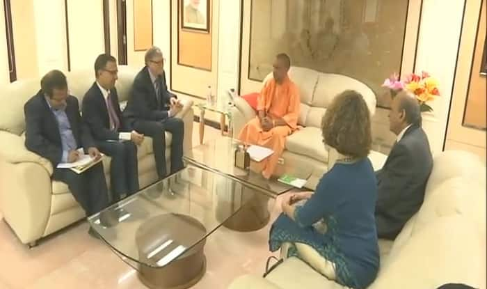 Bill Gates to Help UP CM Yogi Adityanath in Tackling Encephalitis