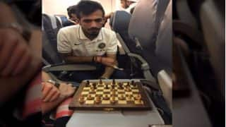 When Yuzvendra Chahal Defeated New Zealand's Ish Sodhi in a Chess Battle