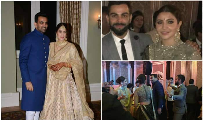 Virat, Anushka caught dancing at Zaheer Khan's wedding