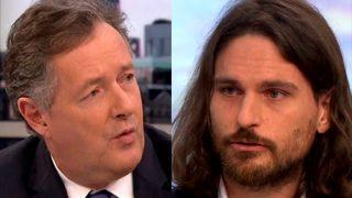 Piers Morgan Calls Dating Guru a D**k on Live TV Show For Sexualising British Women