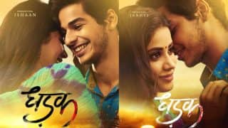 Dhadak Posters: Janhvi Kapoor And Ishaan Khattar Unleash Their Raw Side In The Upcoming Sairat Remake